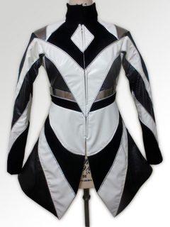 COOLMINT バイカラー&異素材のジャケット