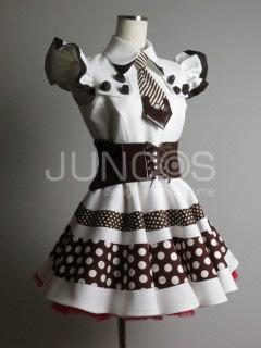 チョコレートをモチーフにしたアイドル衣装CHOCO☆MILQ