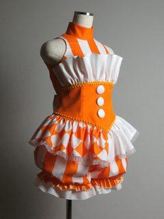 アイドル衣装 オレンジバルーンパンツ