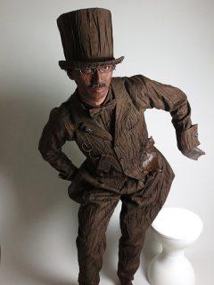 ウッディーくん木製衣装