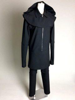 分解ブラック衣装