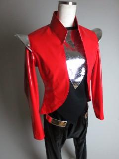 クールミント 赤エナメル衣装