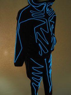 LED衣装ジャージ上下セットアップ