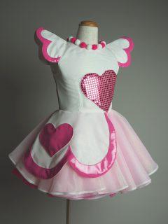 ピンクハートのアイドル衣装