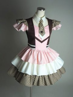 ピンクのCHOCO★MILKセパレート衣装