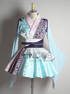pixmix「青い桜」