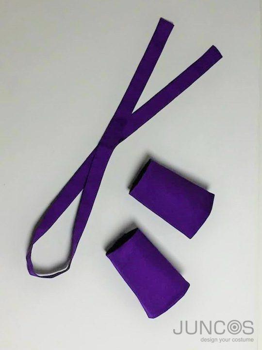 太鼓紫シルバー